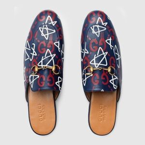 Gucci Princetown Ghost Mules
